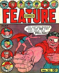Feature Comics : Issue 32 Volume Issue 32 by Quality Comics