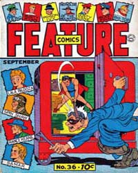 Feature Comics : Issue 36 Volume Issue 36 by Quality Comics