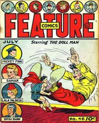 Feature Comics : Issue 46 Volume Issue 46 by Quality Comics