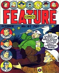 Feature Comics : Issue 61 Volume Issue 61 by Quality Comics