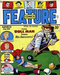 Feature Comics : Issue 132 Volume Issue 132 by Quality Comics