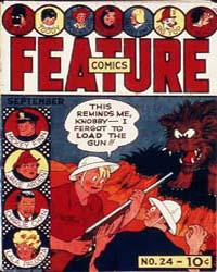 Feature Comics : Issue 24 Volume Issue 24 by Quality Comics