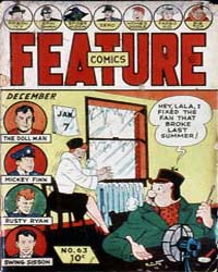 Feature Comics : Issue 63 Volume Issue 63 by Quality Comics