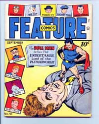 Feature Comics : Issue 91 Volume Issue 91 by Quality Comics