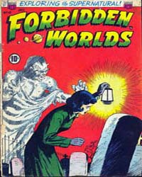 Forbidden Worlds : Issue 10 Volume Issue 10 by American Comics Group/Acg