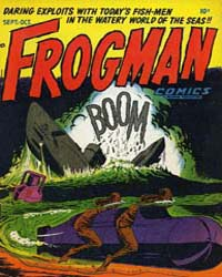 Frogman Comics : Vol. 1, Issue 4 Volume Vol. 1, Issue 4 by Hillman Periodicals