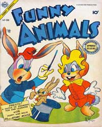 Funny Animals : Issue 84 Volume Issue 84 by Charlton Comics