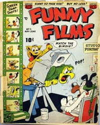 Funny Films : Issue 5 Volume Issue 5 by American Comics Group/Acg