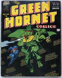 Green Hornet Comics : Issue 31 Volume Issue 31 by Striker, Fran