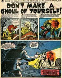 Astonishing : Don'T Make a Ghoul of Your... Volume Issue 16 by Ayers, Dick