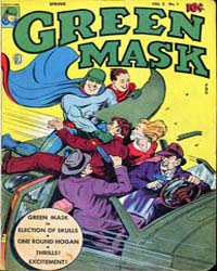 The Green Mask: Volume 2, Issue 1 by Frehm, Walter