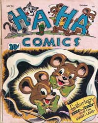 Ha Ha Comics : Issue 34 Volume Issue 34 by American Comics Group/Acg