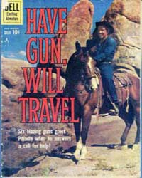 Have Gun-Will Travel : Issue 8 Volume Issue 8 by Dell Comics