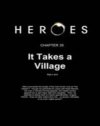 Heroes Genesis : It Takes a Village, Par... Volume Vol. 1, Issue 35 by Tim Sale