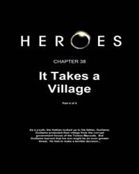 Heroes Genesis : It Takes a Village, Par... Volume Vol. 1, Issue 38 by Tim Sale