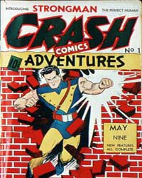 Crash Comics : Issue 1 Volume Issue 1 by Holyoke Publishing