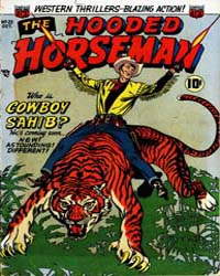 The Hooded Horseman: Volume 1, Issue 25 by American Comics Group/Acg