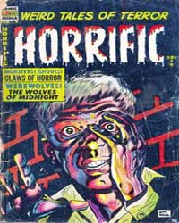 Horrific : Issue 9 Volume Issue 9 by Comic Media