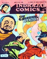 Phil Corrigan: The Criminal Genius: Volu... by Indrajal Comics