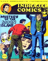 Phil Corrigan: Mystery of the Moon Islan... by Indrajal Comics
