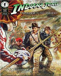 Indiana Jones : Thunder in the Orient Pa... Volume Issue 4 by Dark Horse Comics