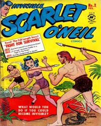 Invisible Scarlet O'Neil : Issue 2 Volume Issue 2 by Harvey Comics