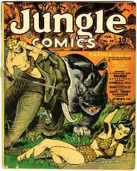 Jungle Comics : Issue 38 Volume Issue 38 by Fiction House