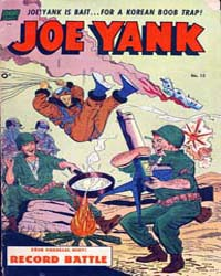 Joe Yank : Issue 13 Volume Issue 13 by Standard Comics