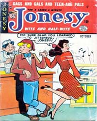 Jonesy : Issue 2 Volume Issue 2 by Quality Comics