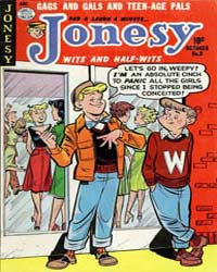Jonesy : Issue 8 Volume Issue 8 by Quality Comics