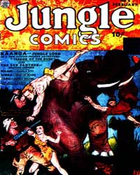 Jungle Comics : Issue 2 Volume Issue 2 by Fiction House
