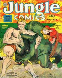 Jungle Comics : Issue 4 Volume Issue 4 by Fiction House
