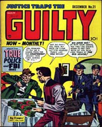 Justice Traps the Guilty : Issue 21 Volume Issue 21 by Prize Comics Group