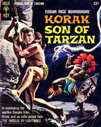 Korak, Son of Tarzan : Issue 6 Volume Issue 6 by Gold Key Comics