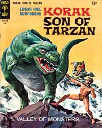 Korak, Son of Tarzan : Issue 17 Volume Issue 17 by Gold Key Comics