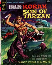 Korak, Son of Tarzan : Issue 23 Volume Issue 23 by Gold Key Comics