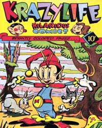 Krazy Life : Issue 1 Volume Issue 1 by Fox Feature Syndicate