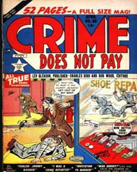 Crime Does Not Pay : Issue 86 Volume Issue 86 by Lev Gleason Publications