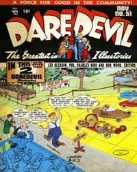 Daredevil Comics : Issue 51 Volume Issue 51 by Biro, Charles