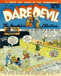 Daredevil Comics : Issue 53 Volume Issue 53 by Biro, Charles