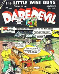Daredevil Comics : Issue 104 Volume Issue 104 by Biro, Charles