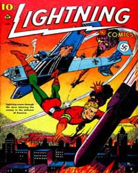 Lighting Comics : Vol. 2, Issue 3 Volume Vol. 2, Issue 3 by Ace Comics
