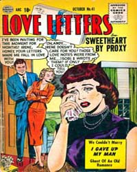 Love Letters : Issue 41 Volume Issue 41 by Quality Comics