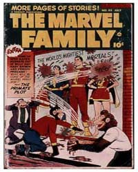 Marvel Family: Issue 85 Volume Issue 85 by Binder, Otto