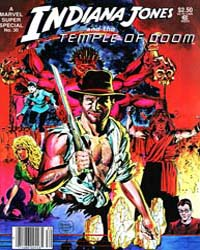 Indiana Jones : The Temple of Doom by Marvel Comics