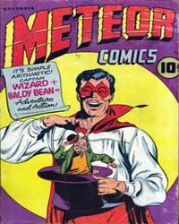 Meteor Comic: Issue 1 Volume Issue 1 by Rural Home