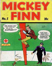 Mickey Finn: Issue 5 Volume Issue 5 by Columbia Comic Book Collection