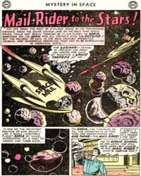 Mystery in Space: Mail Rider to the Star... Volume Issue 42 by Broome, John
