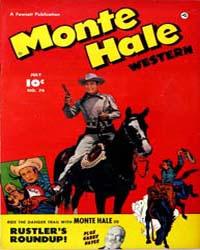 Monte Hale Western: Issue 74 Volume Issue 74 by Fawcett Magazine