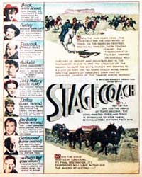 John Wayne Adventure Comics : Stagecoach by Dell Comics